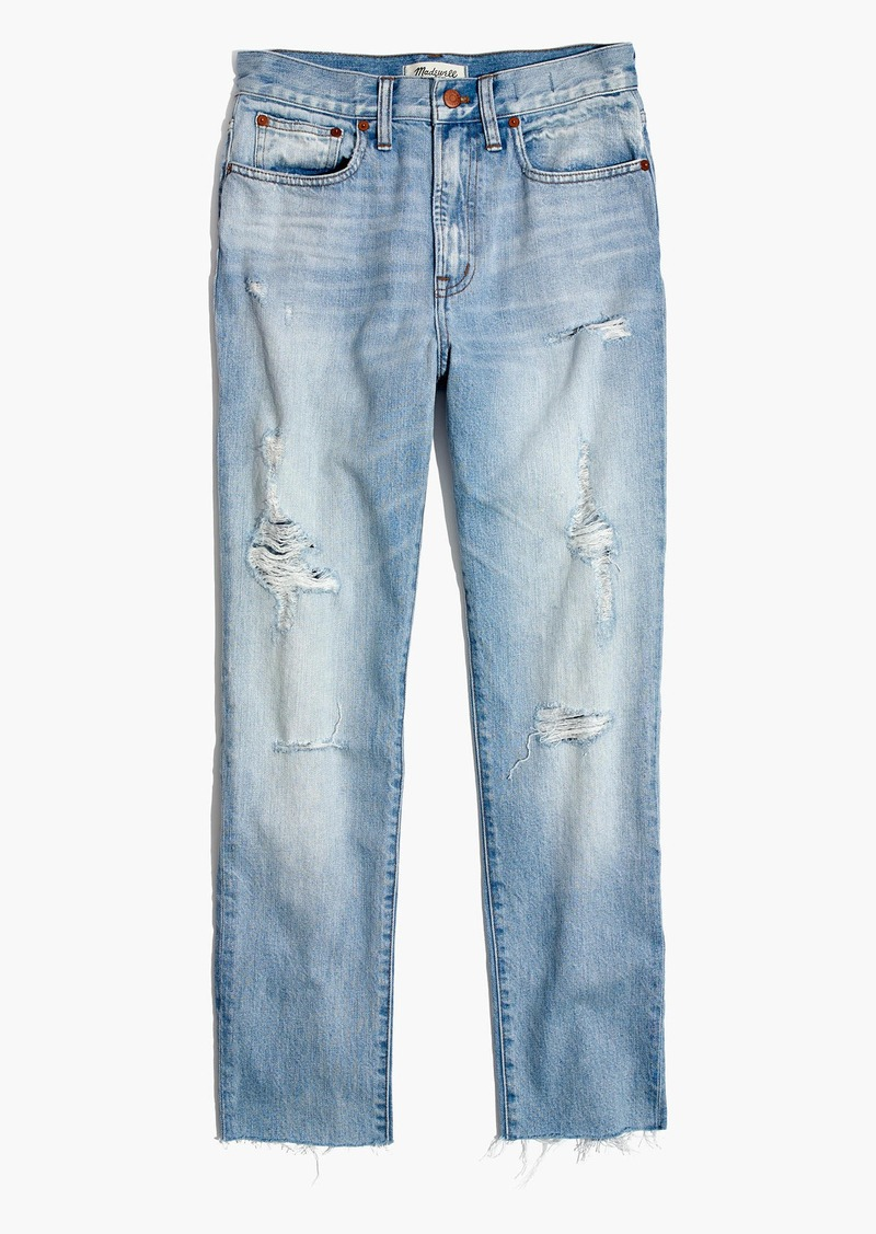 626455306ba1 Madewell The Perfect Summer Jean in Malden Wash