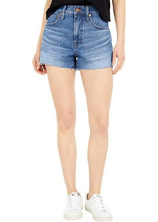 Madewell The Perfect Vintage Jean Shorts in Balsam Wash