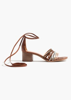 The Rosalind Ankle-Wrap Sandal