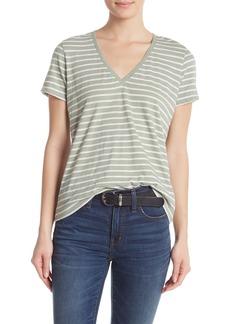 Madewell Theresa Striped V-Neck T-Shirt (Regular & Plus Size)