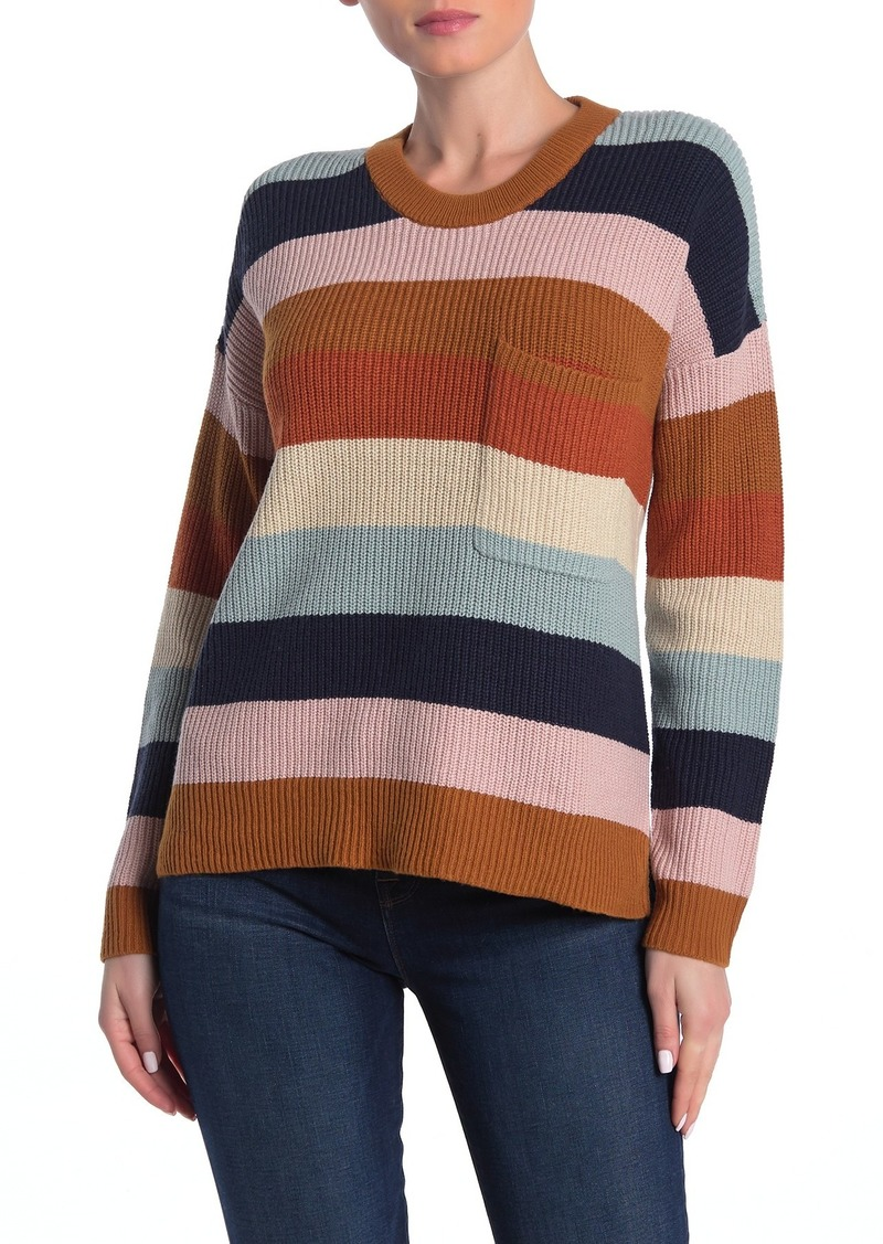 Madewell Thompson Pocket Pullover Sweater