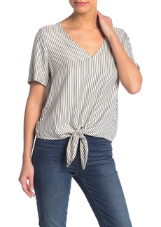 Madewell Tie Front Top (Petite)