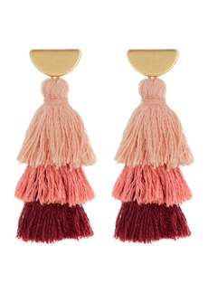Madewell Tiered Tassel Earrings