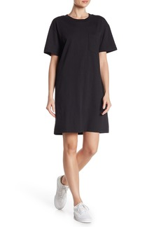 Madewell Tina Solid T-Shirt Dress