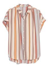 Madewell Towel Stripe Central Shirt
