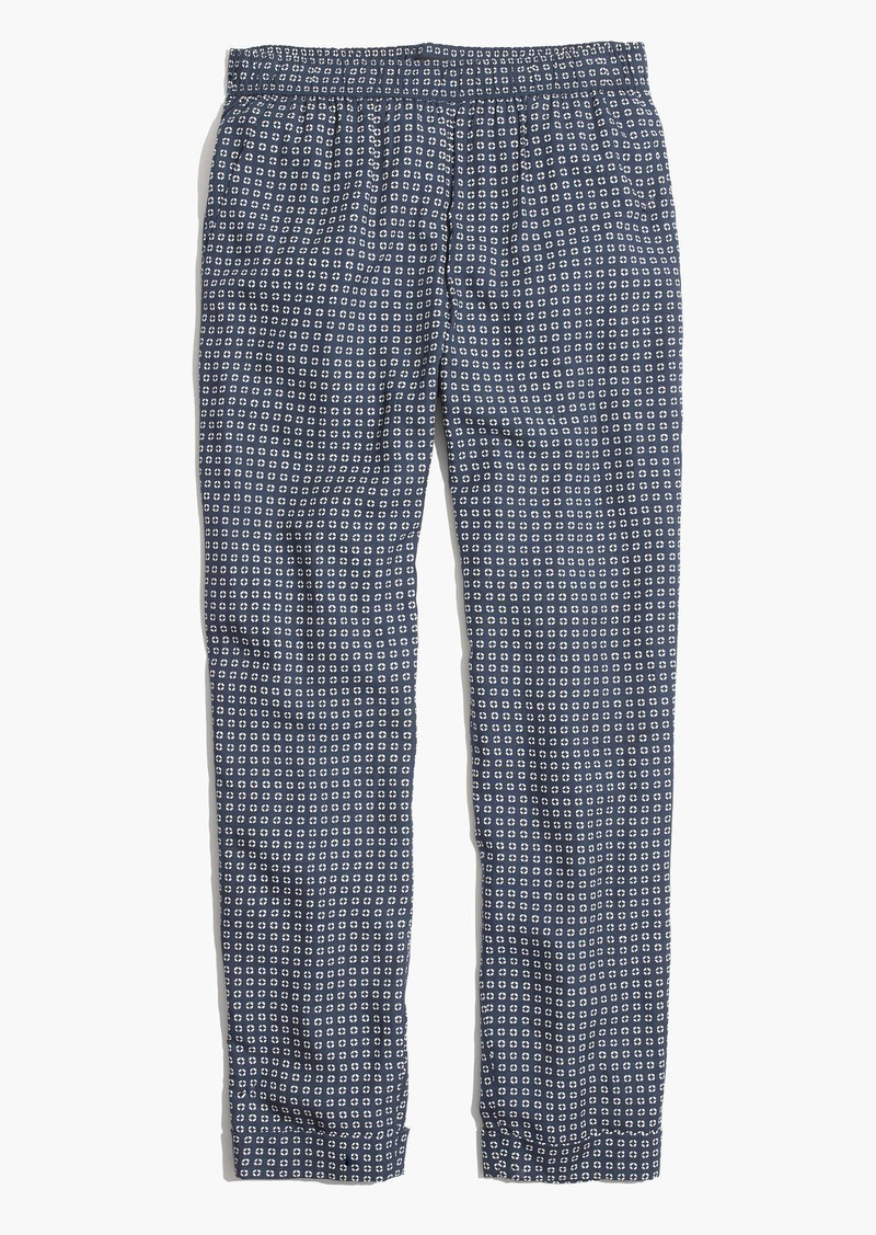 Madewell Track Trousers in Ascot Tile