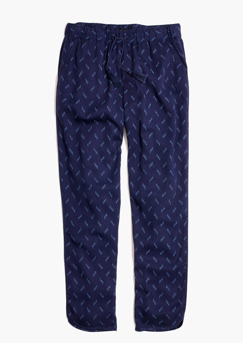 Madewell Track Trousers in Ikat Print