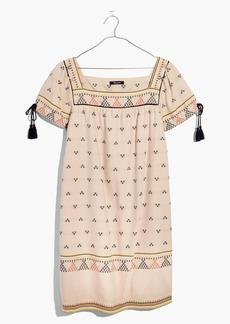 Triangle Jacquard Shift Dress