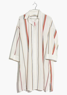 Tunic Shirtdress in Schulner Stripe