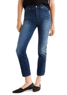 Madewell Tux Stripe Stovepipe Jeans
