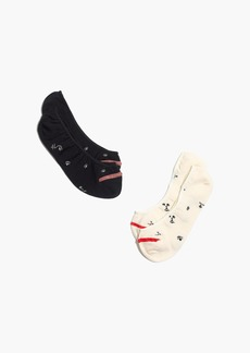 Madewell Two-Pack Making Faces Low-Profile Socks