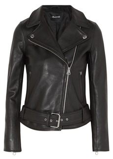 Madewell Ultimate Textured-leather Biker Jacket