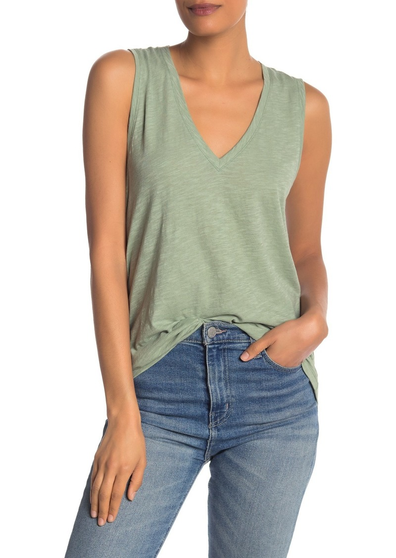 Madewell V-Neck Knit Tank Top (Regular & Plus Size)