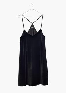 Madewell Velvet Slip Dress