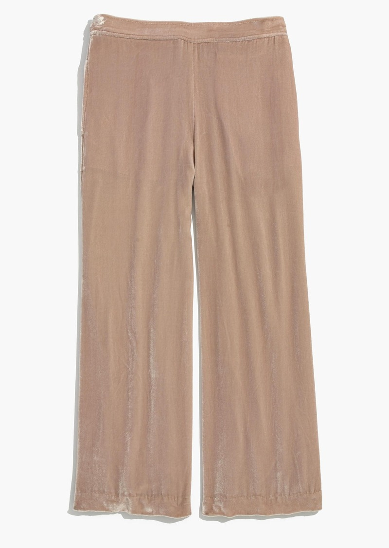 Madewell Velvet Wide-Leg Pants | Casual Pants - Shop It To Me