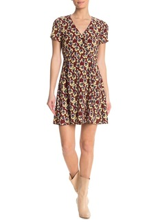 Madewell Viola Floral Wrap Dress