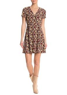 Madewell Viola Floral Wrap Dress