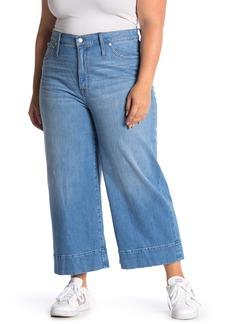 Madewell Wide Leg Cropped Jeans (Plus Size)