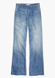 Wide-Leg Jeans in Shea Wash