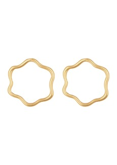 Madewell Wombly Circle Earrings