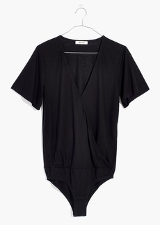 Madewell Wrap-Front Bodysuit