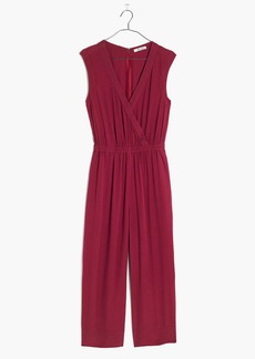 Madewell Wrap-Front Culotte Jumpsuit