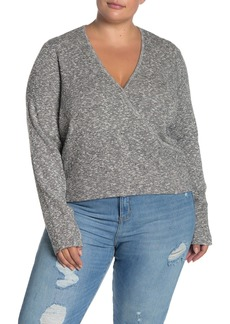 Madewell Wrap Front Pullover Sweater (Regular & Plus Size)