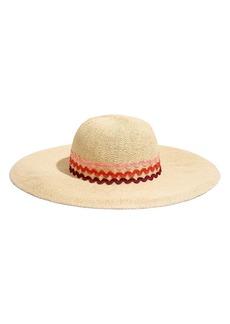 Madewell X Biltmore® Rickrack Straw Hat