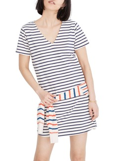 Madewell Yorktown Strip Relaxed T-Shirt Dress (Regular & Plus Size)