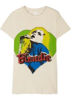 Madeworn Blondie Distressed Printed Cotton-jersey T-shirt