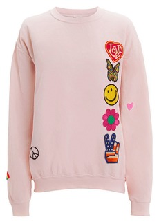 Madeworn Faded Pink Patch Sweatshirt