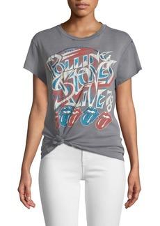 Madeworn Faded Rolling Stones Crewneck Tee