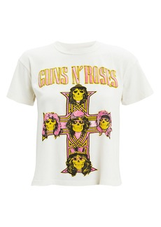 Madeworn Guns N' Roses Cropped T-Shirt