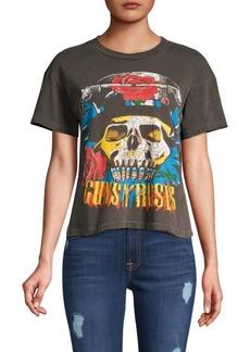 cf5ff93385a Madeworn Madeworn Guns N' Roses Use Your Illusion Crop Tee Now $113.00