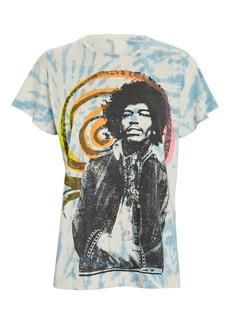 Madeworn Jimi Hendrix Tie-Dye T-Shirt