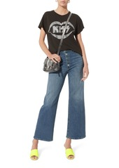 Madeworn Kiss Glitter Graphic T-Shirt