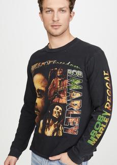 Madeworn Long Sleeve Bob Marley Raggae T-Shirt