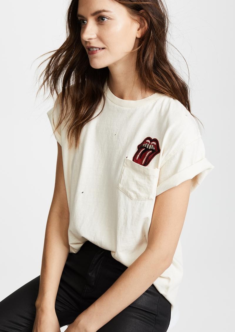 734add8012eef Madeworn MADEWORN ROCK Rolling Stones Pocket Patch Tee | Casual Shirts