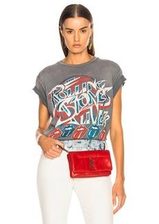 Madeworn Rolling Stones Live '78 Crew Tee