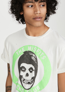 Madeworn The Misfits Fiend Club Neon Muscle Tee