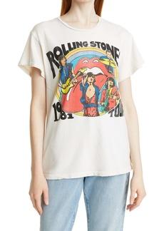 MadeWorn Unisex The Rolling Stones 1981 Tour Graphic Tee