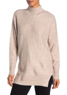 Magaschoni Long Sleeve Mock Neck Dolman Sweater