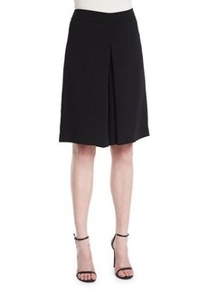Magaschoni Mid-Rise Flat-Front Culottes