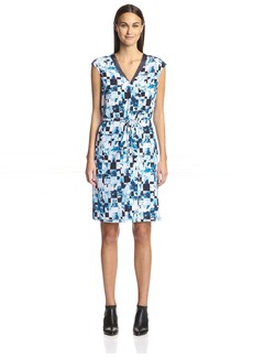 Magaschoni Women's Geo Print Dress