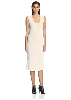 Magaschoni Women's Long Ribbed Dress  S