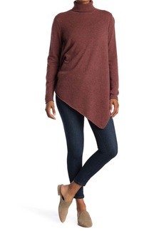 Magaschoni Turtleneck Cashmere Tunic Sweater
