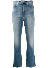 Magda Butrym high-rise cropped jeans