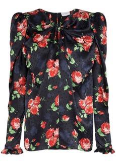 Magda Butrym Caserta floral print blouse