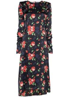 Magda Butrym Crotone floral print midi dress