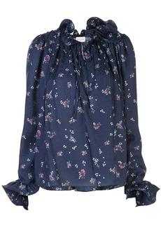 Magda Butrym Key West floral-print blouse